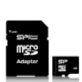 Флеш карта MicroSD 8GB Silicon Power(Sd-adapter) Class10