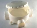 Распаячная коробка для о/п круглая 75х40 мм с отводами