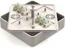 Коробка для о/п с контактной группой 100х100х29 мм