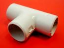 Тройник соединительный для труб диаметр 16, 20, 25, 32 мм.