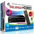 Цифровая приставка DVB-T/T2/C Selenga HD 980D LAN