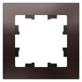 Рамка одиночная (1 пост) Atlas Design мокко